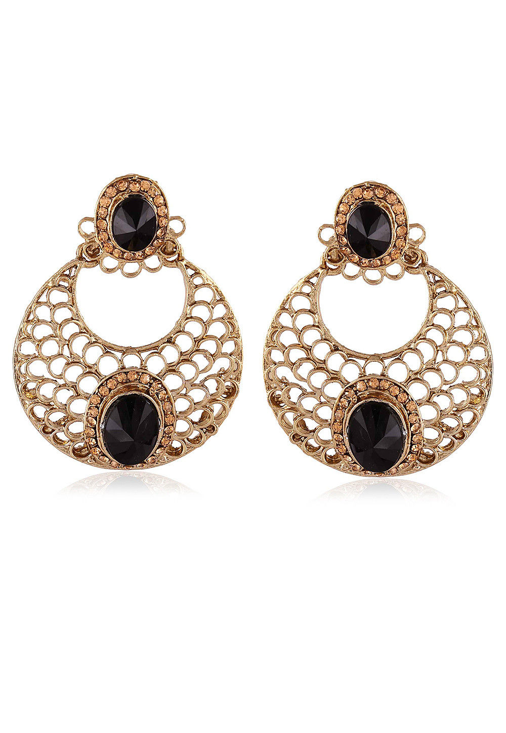 Stone Studded Chandbali Earring