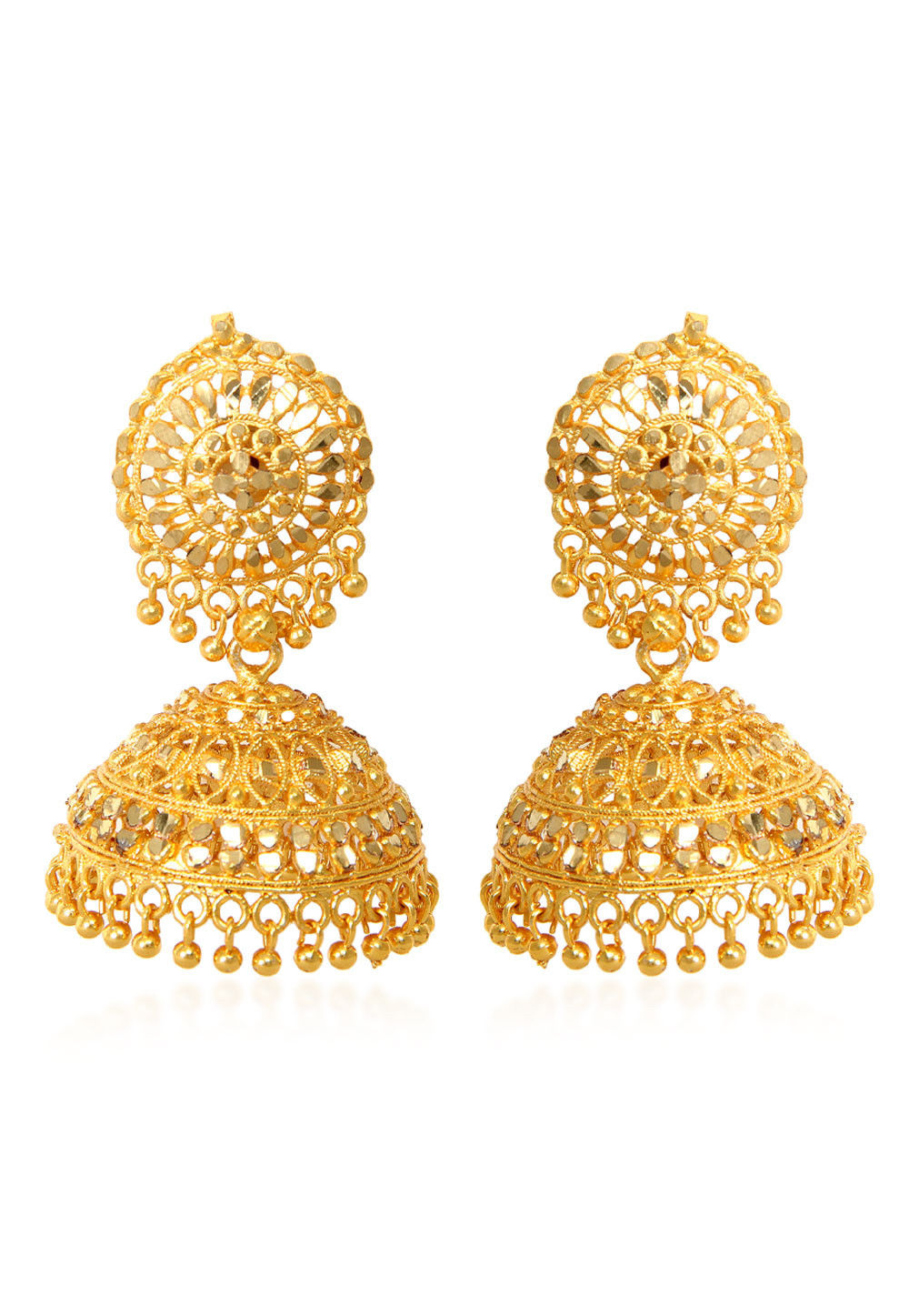 Beaded Jhumka Style Earring