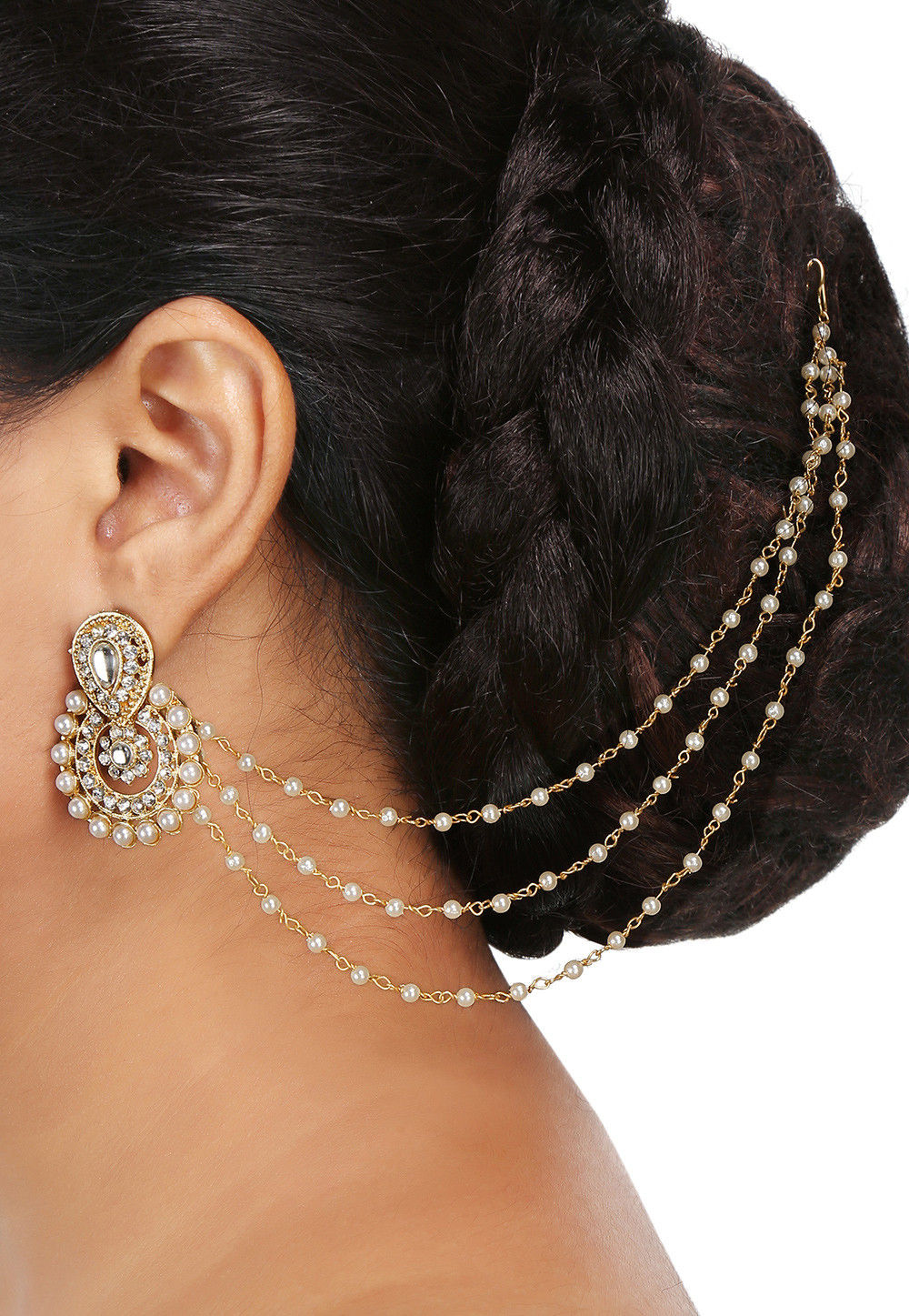 Beaded Ear Chain