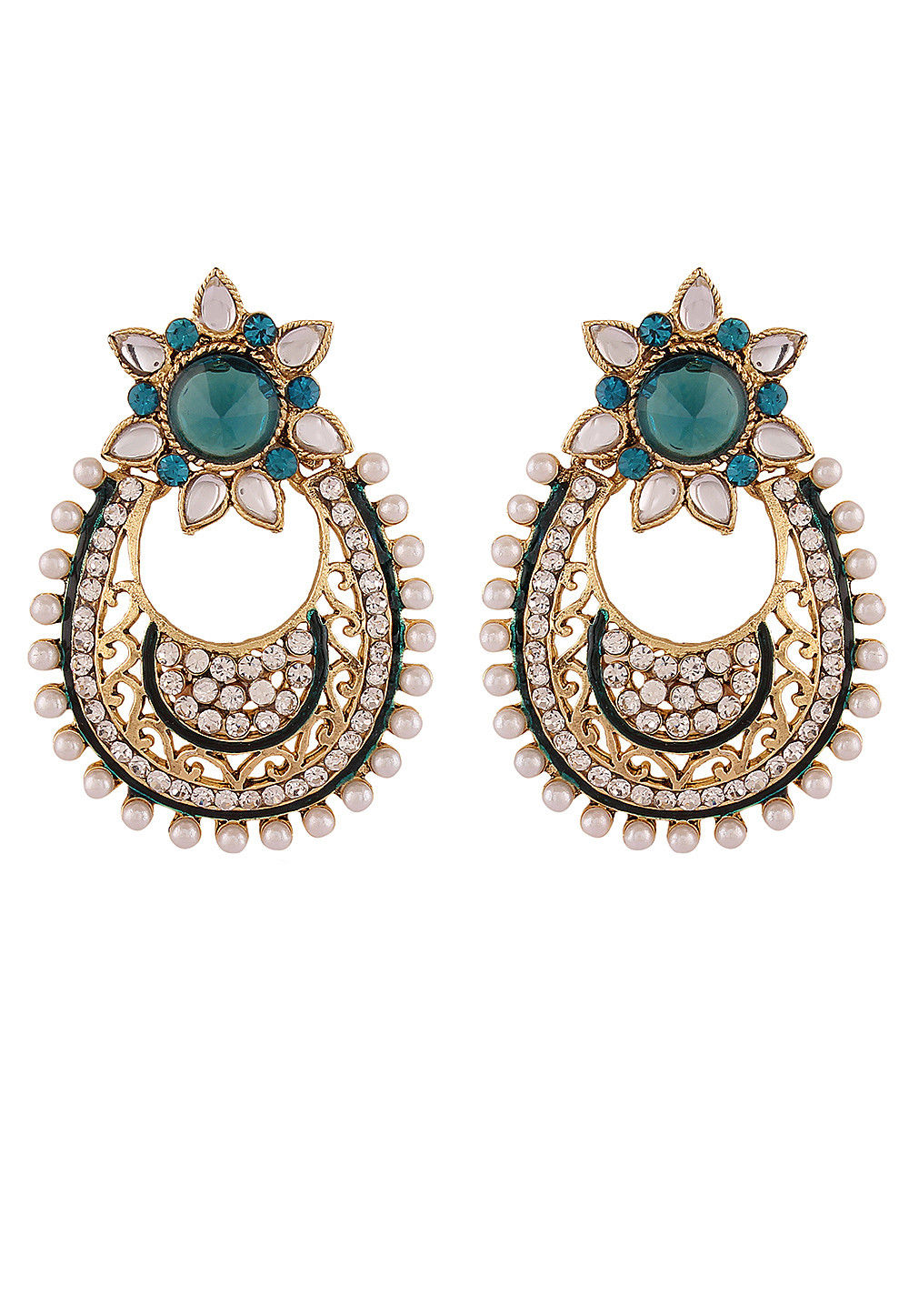 Stone Studded Earrings