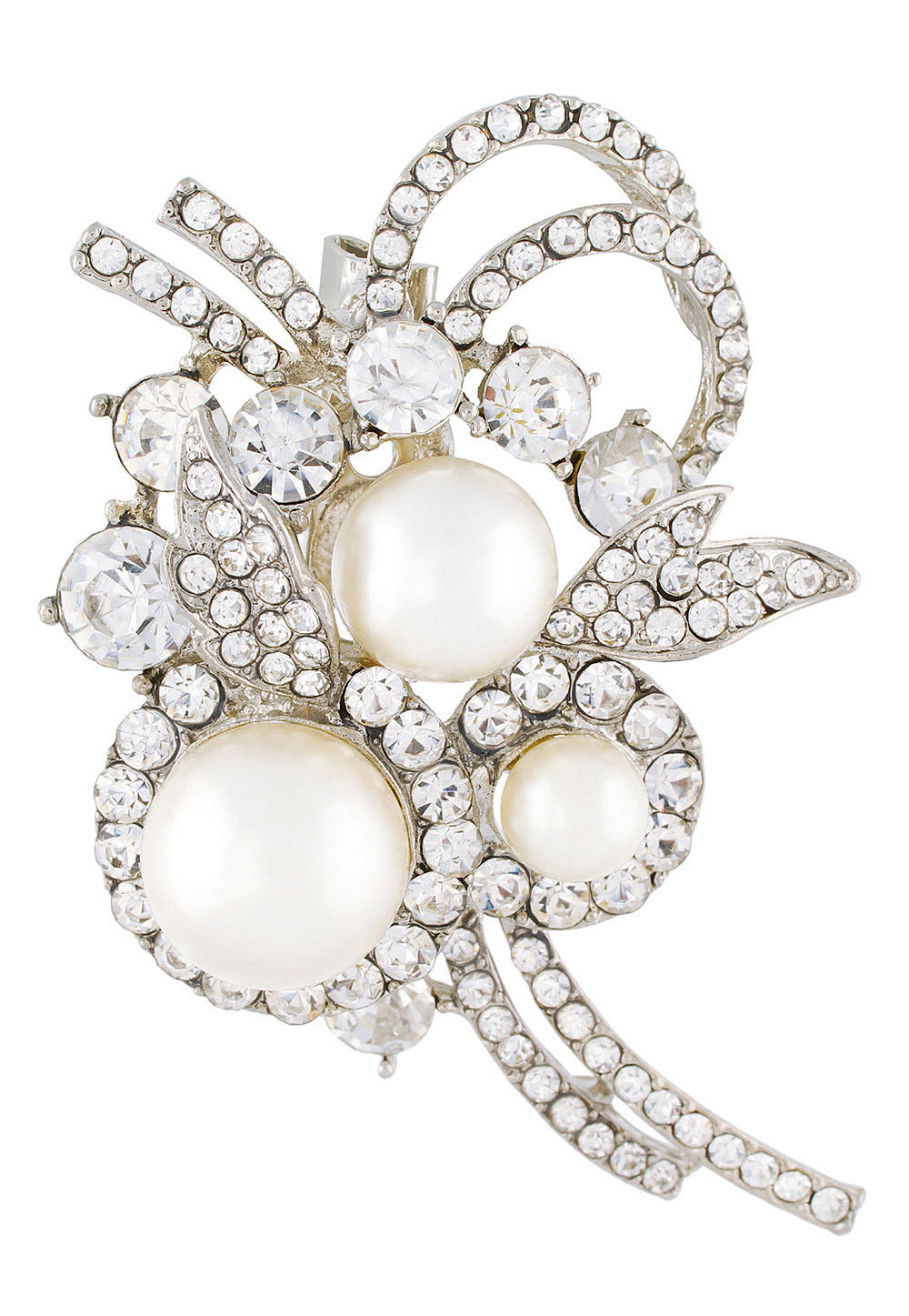 Stone Studded Brooch