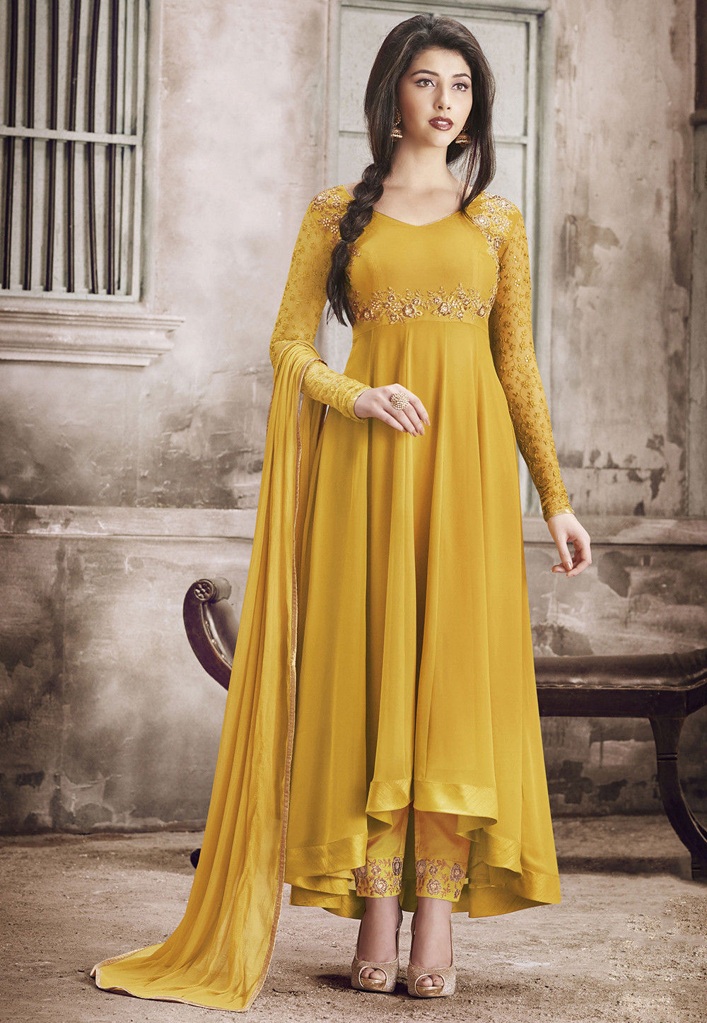 745b83c73a Party Wear Suits: Buy Party Wear Salwar Suits for Women Online ...