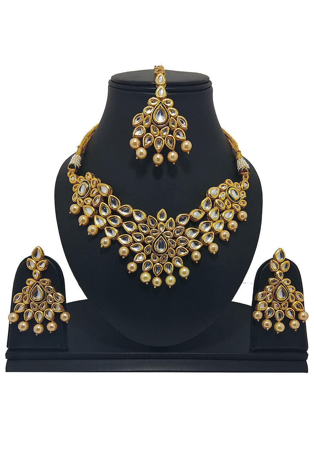 Kundan Necklace Set Jmy316