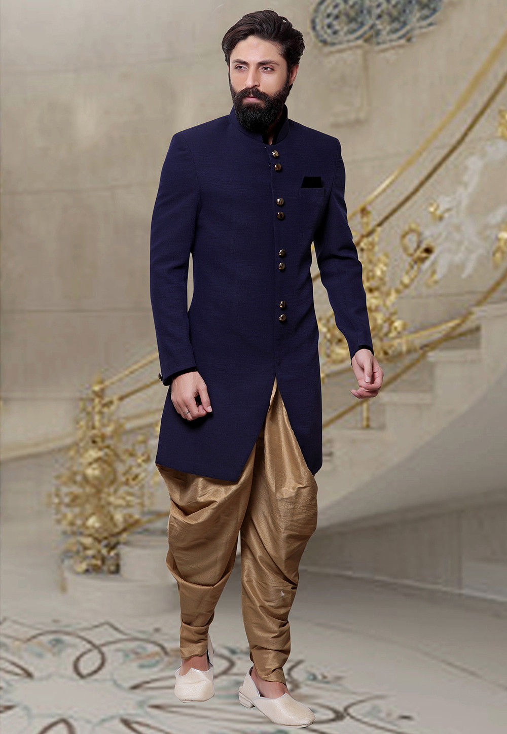 Image result for dhoti sherwani