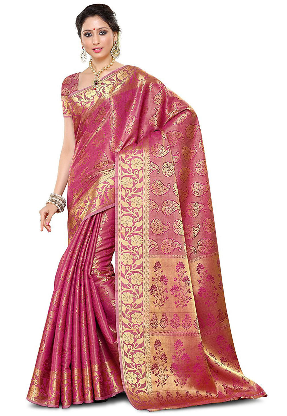 248d9f1001887e Banarasi Saree - Shop Pure Silk Banarasi Sarees Online | Utsav Fashion