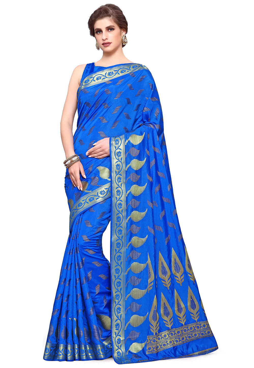 Uppada Silk Saree in Blue
