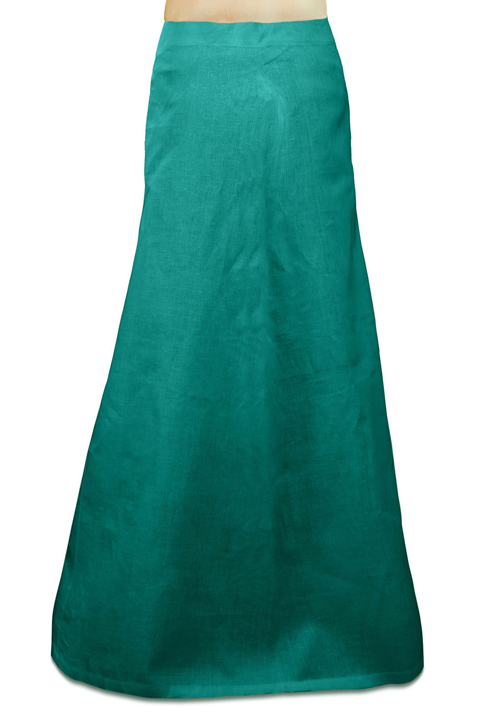 Cotton Petticoat in Teal Blue