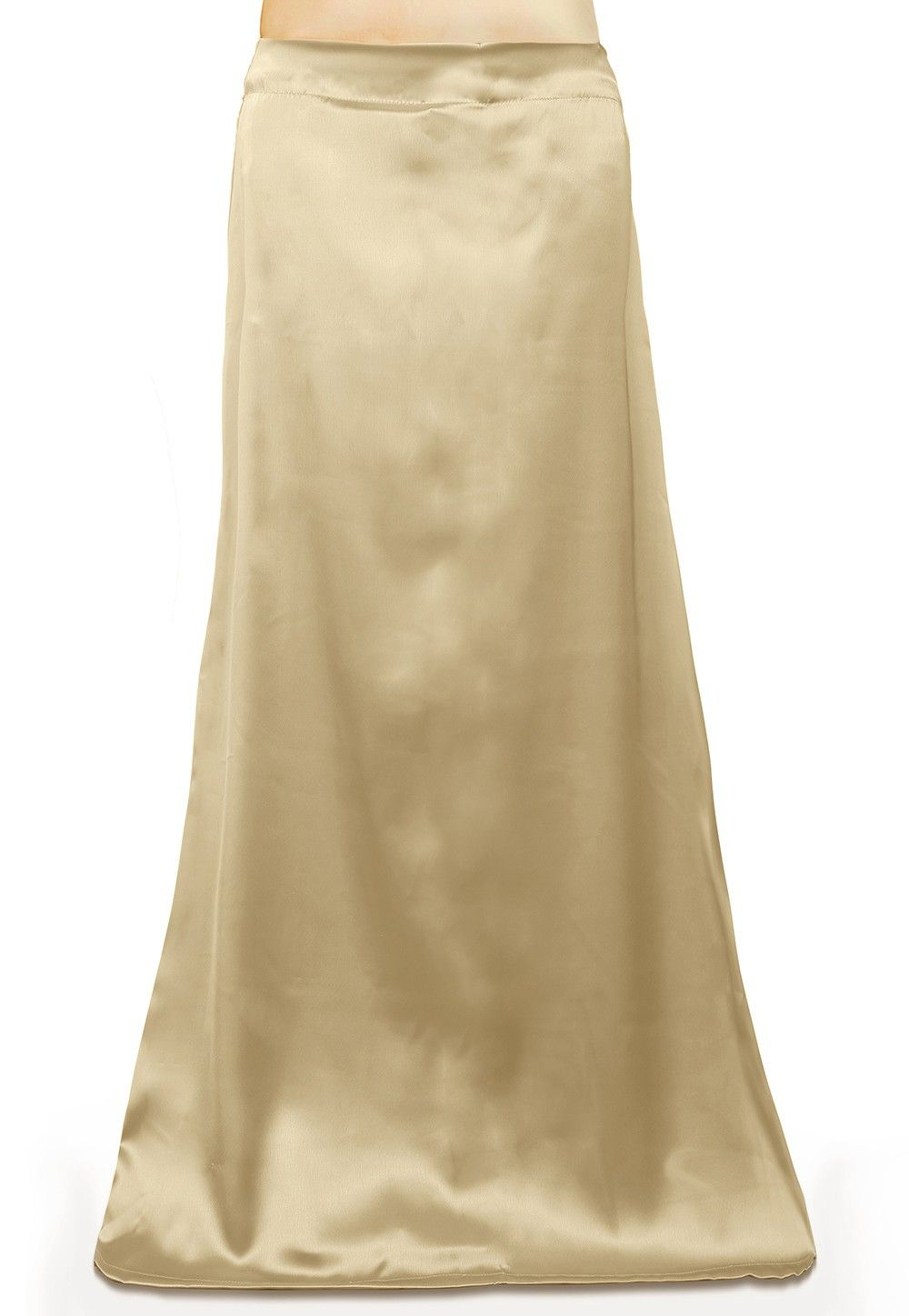 Satin Petticoat in Beige