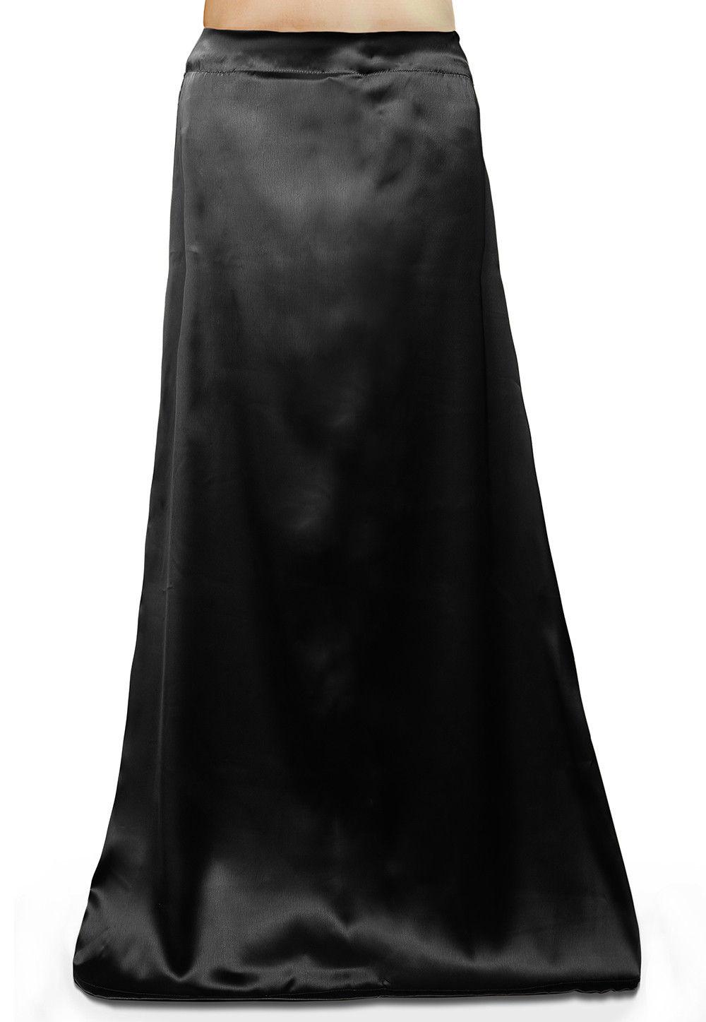 Satin Petticoat in Black