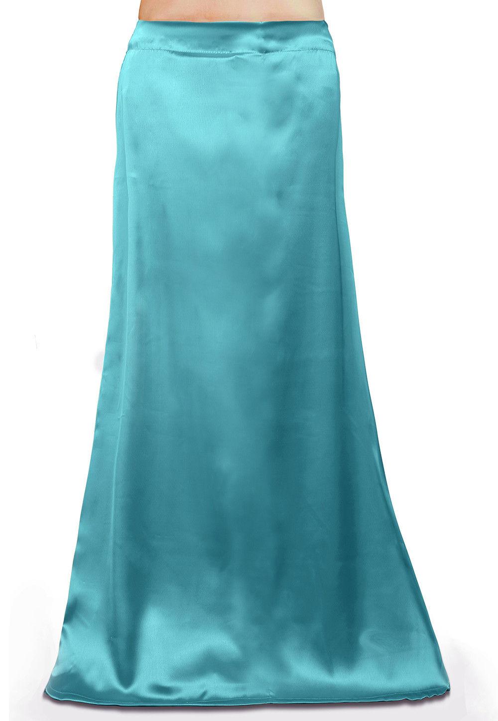 Satin Petticoat in Turquoise