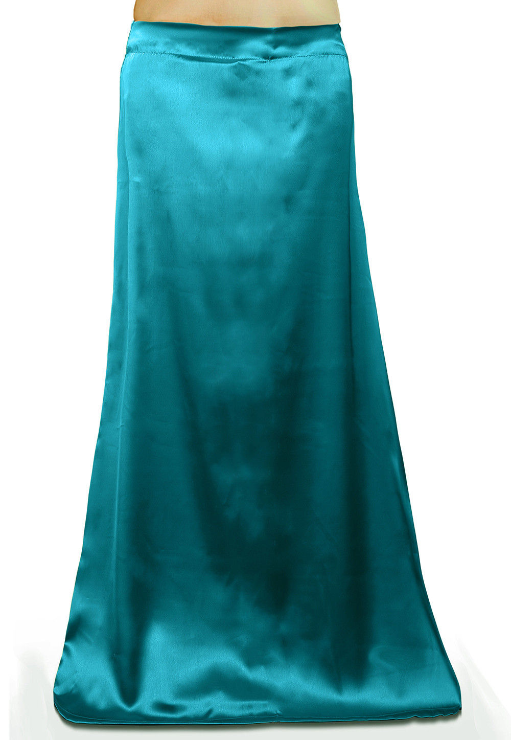 Satin Petticoat in Teal Blue