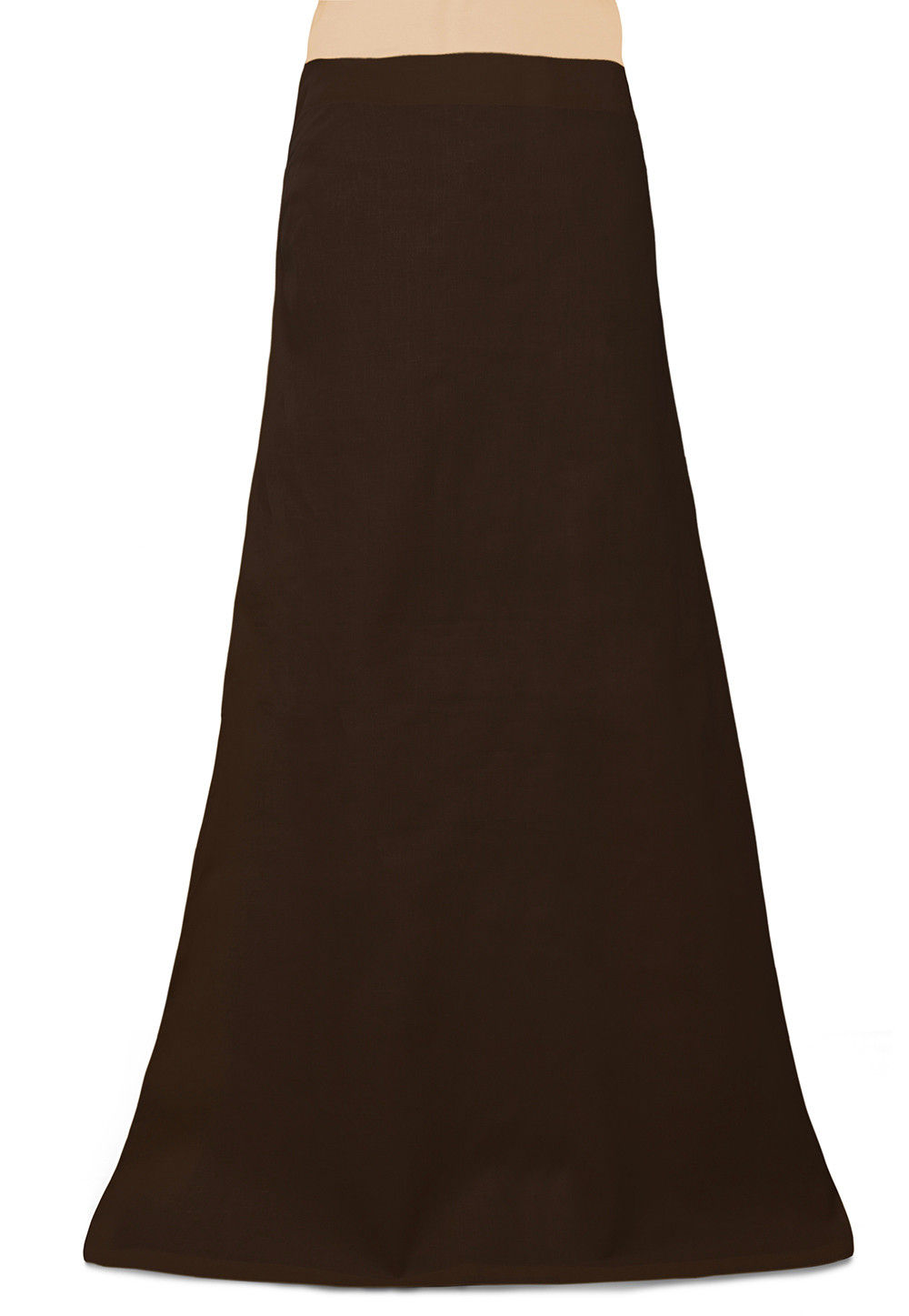 Cotton Petticoat in Dark Brown