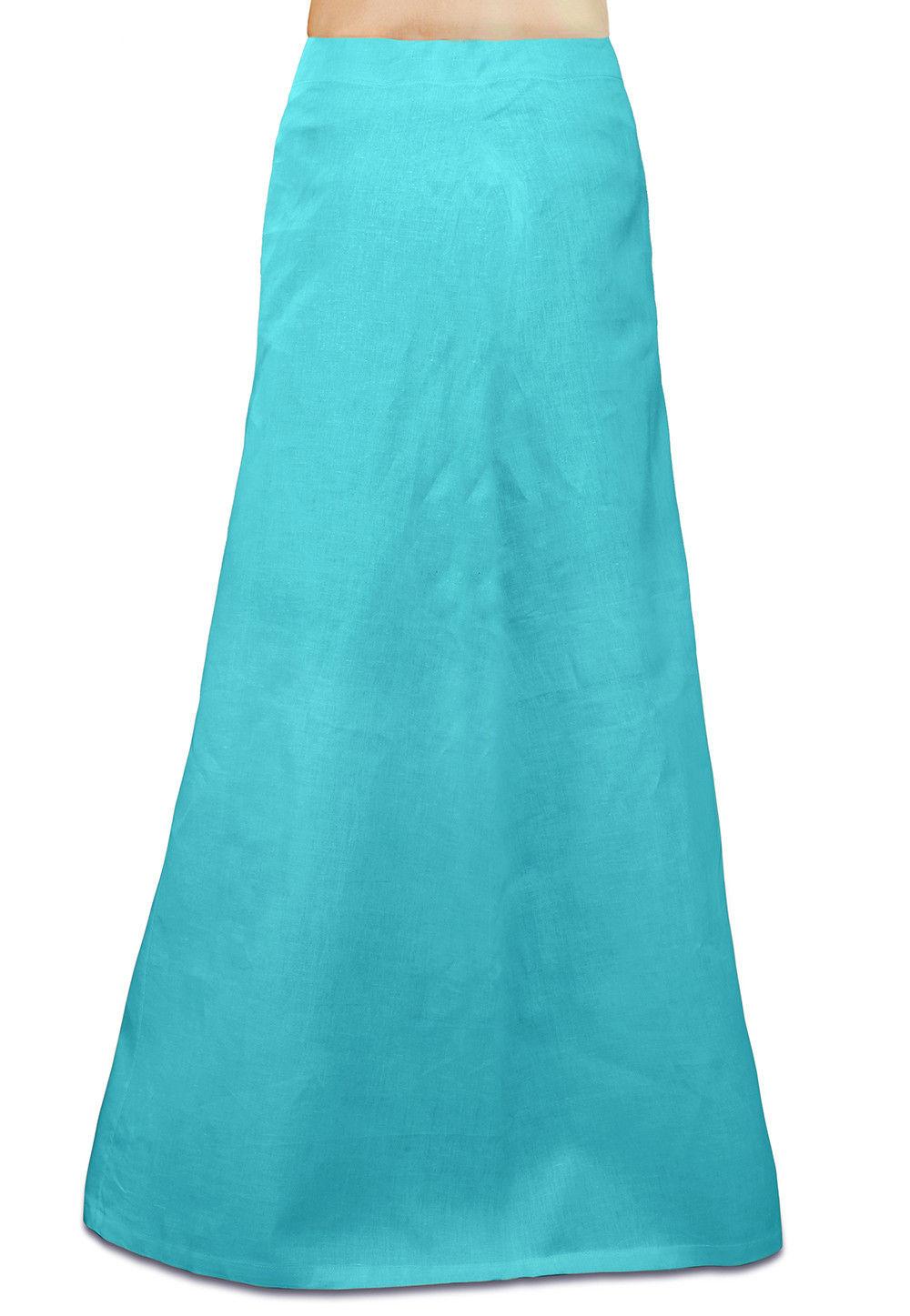 Cotton Petticoat in Sky Blue