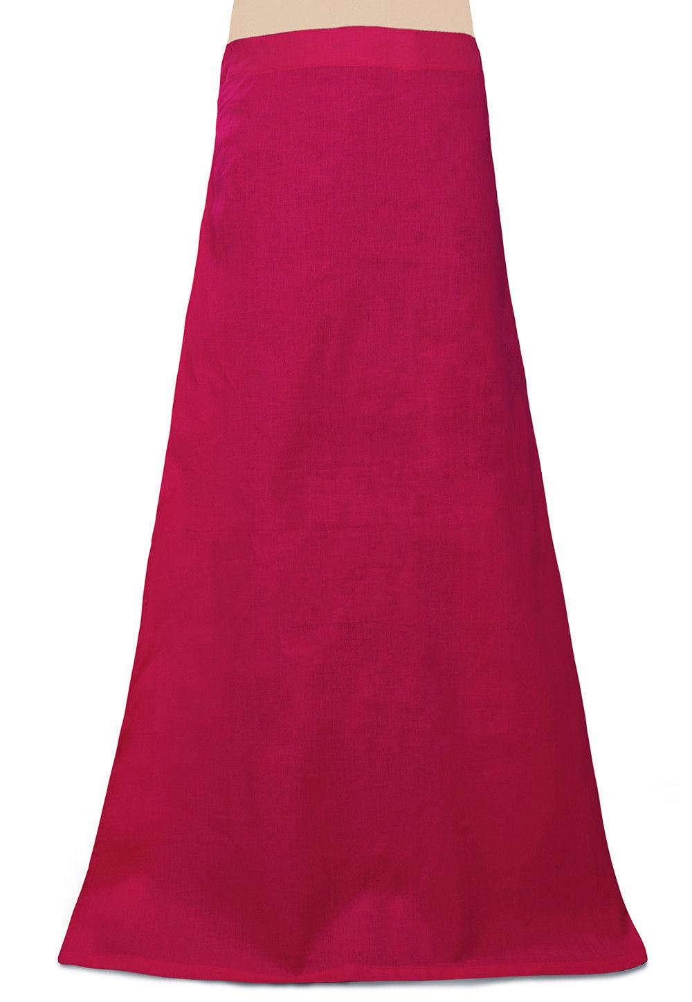 Cotton Petticoat in Fuchsia