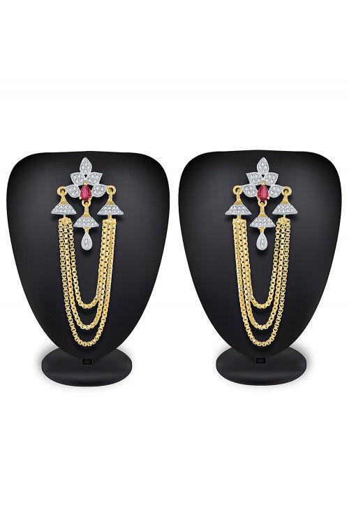 American Diamond Studded Earring