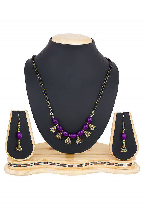 Beaded Mangalsutra Set