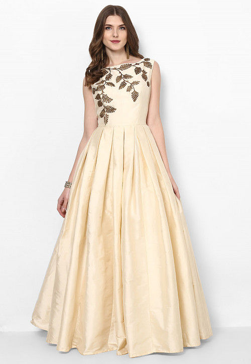 Image result for cream gown