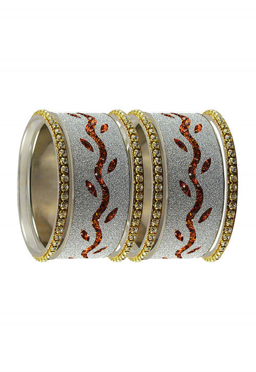 Stone Studded Set of Bangles