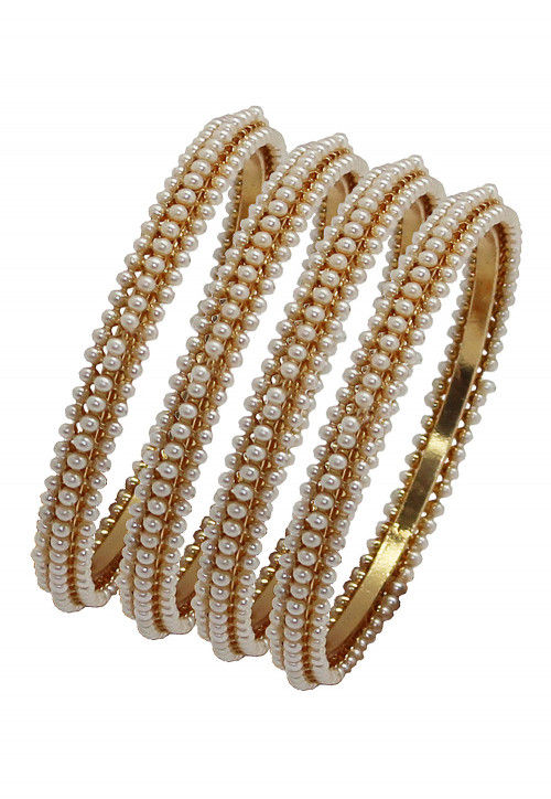Pearl Set of Bangles