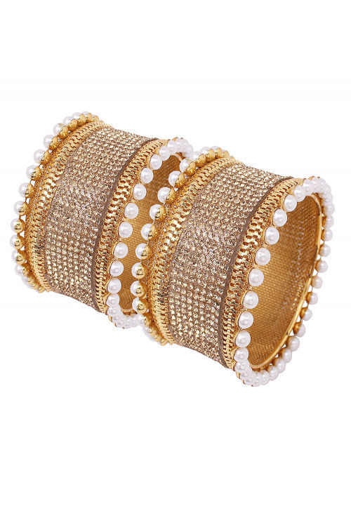 Pearl Pair of Bangles