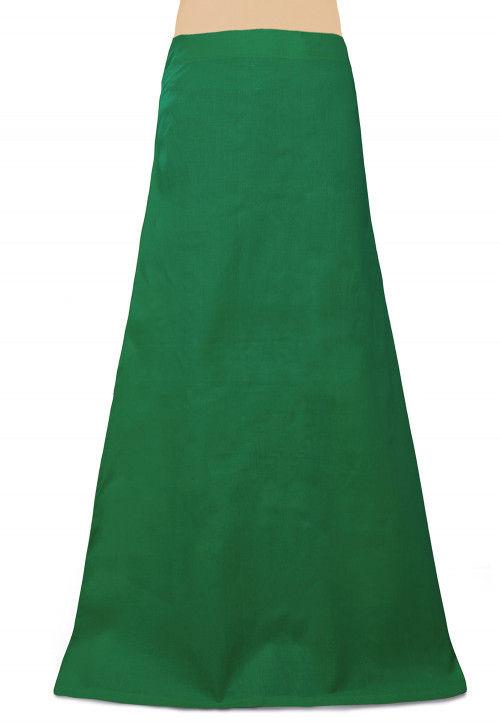 Cotton Petticoat in Green