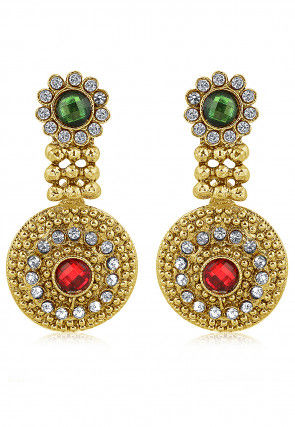 American Diamond Studded Earrings
