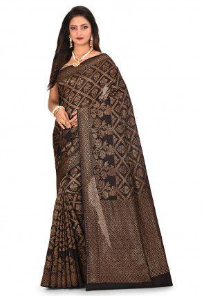Banarasi Saree in Black