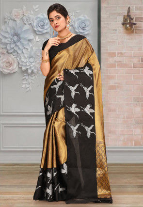 Banarasi Saree in Golden