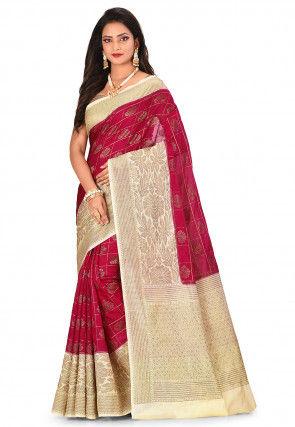 Banarasi Saree in Red