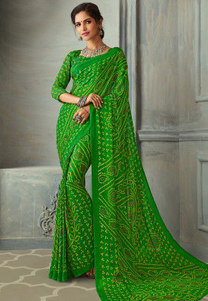 7e9acc959f Casual - Bandhani - Saree Online: Buy Latest Indian Sarees (Saris ...