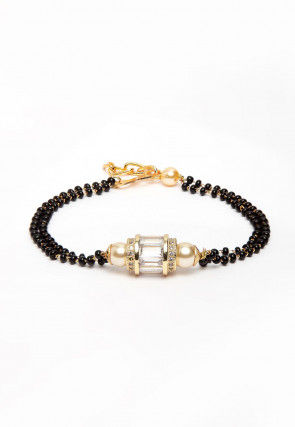 Beaded Adjustable Magalsutra Bracelet