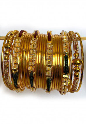 Beaded Bangle Set