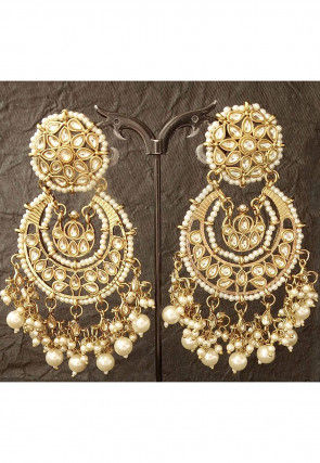 Beaded Chandbali Earrings
