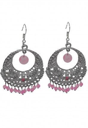 Beaded Chandbali Earrings