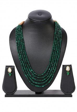 Beaded Layered Necklace Set