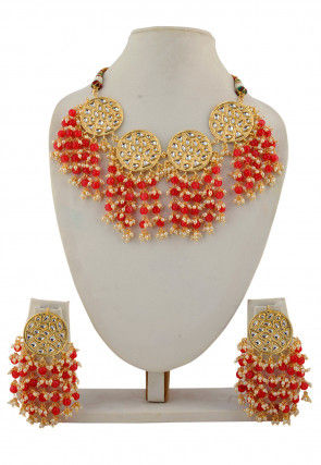 Beaded Necklace Set