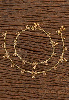 Beaded Pair of Anklets