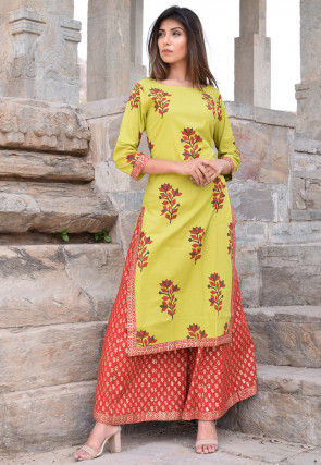 b62749c1ab Casual Suits: Buy Casual Salwar Suit Online for Women | Utsav Fashion
