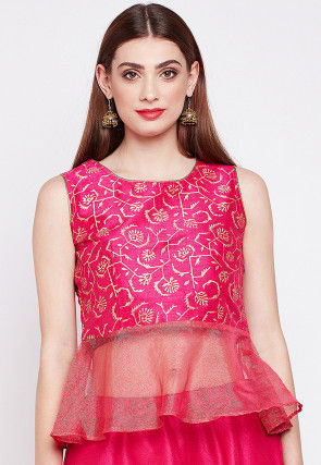 3a152fcd148 Ladies Tops: Buy Indo Western Tops Online at Best Prices   Utsav Fashion