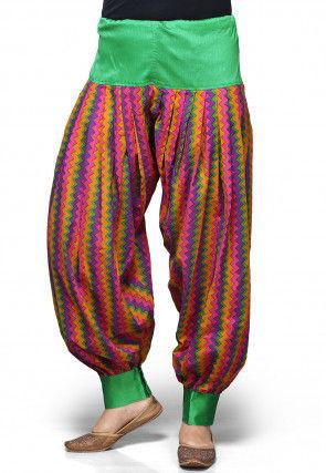 Cotton Jasmine Pant in Multicolor