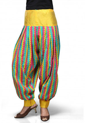 Cotton Jasmine Pant in Multicolor