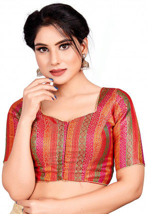 cde28d039eb98 Multicolor - Ethnic Blouses  Buy Indian Saree Blouse Designs from Largest  Range Online