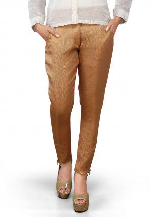 Brocade Pant in Golden
