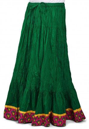 skirts buy indo western short long skirts for women online