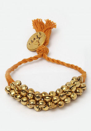 Cluster Ghunghroo Adjustable Bracelet