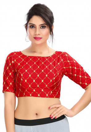 Indian Traditional Art Blouse Designs