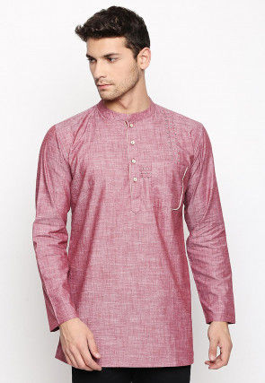 1adf2a2d7ca Pink - Kurta - Men s Ethnic Wear  Buy Indian Traditional Mens ...