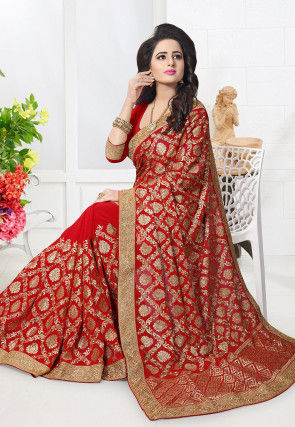 01307fb9bd Wedding Sarees Online: Buy Latest Designer Sarees For Wedding At ...