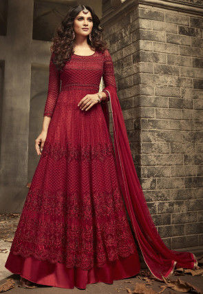 9f353ddaf Abaya Style Suits: Buy Abaya Style Dress Online from India | Utsav Fashion