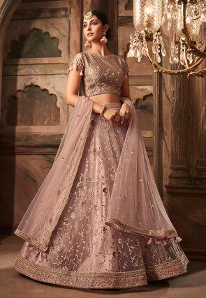 f49f30cb100695 Buy Pink Color Lehenga Cholis and Designer Lehengas Online